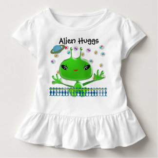 T-shirt Pour Les Tous Petits Alien ultra mignon Huggs de bébé