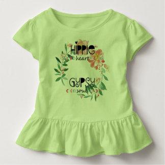 T-shirt Pour Les Tous Petits Âme hippie de gitan de coeur