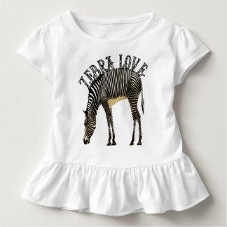 T-shirt Pour Les Tous Petits Amour de zèbre