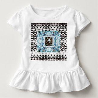 T-shirt Pour Les Tous Petits Anneaux de colibri et conception de Yin Yang