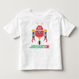 T-shirt Pour Les Tous Petits Anniversaire de robot