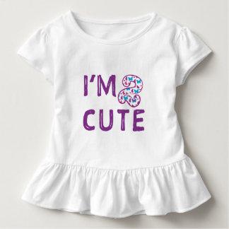T-shirt Pour Les Tous Petits Anniversaire mignon du papillon deux