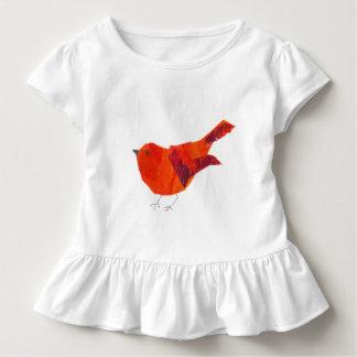 T-shirt Pour Les Tous Petits Aquarelle rouge mignonne moderne WearableART