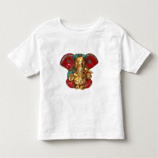 T-shirt Pour Les Tous Petits Art indien de temple hindou de statue en laiton