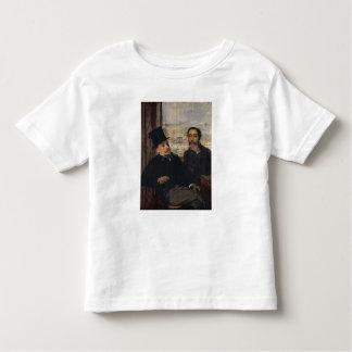 T-shirt Pour Les Tous Petits Autoportrait W Evariste de Valernes d'Edgar Degas