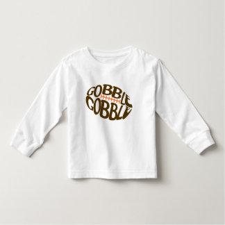 T-shirt Pour Les Tous Petits Avalez avalent la chemise de thanksgiving du