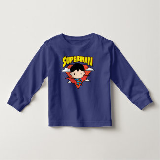 T-shirt Pour Les Tous Petits Bouclier et nom de point de polka de Chibi