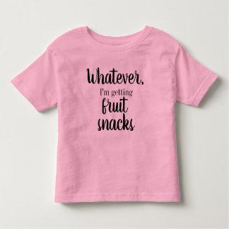 T-shirt Pour Les Tous Petits Celui qui, j'obtienne la pièce en t de