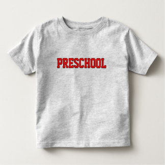 T-shirt Pour Les Tous Petits Chemise collégiale préscolaire