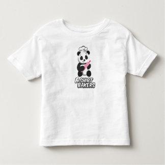 T-shirt Pour Les Tous Petits Chemise cuite au four de panda