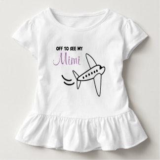 T-shirt Pour Les Tous Petits Chemise d'avion - chronométrez pour un voyage |