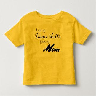T-shirt Pour Les Tous Petits Chemise de danse de qualifications de danse de
