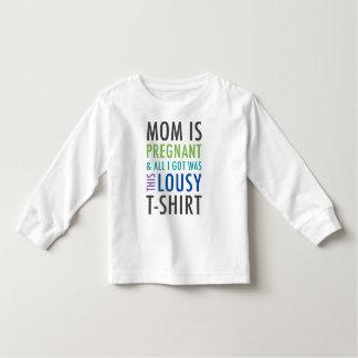 T-shirt Pour Les Tous Petits Chemise de faire-part de grossesse pour des