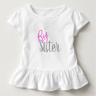 T-shirt Pour Les Tous Petits Chemise de grande soeur