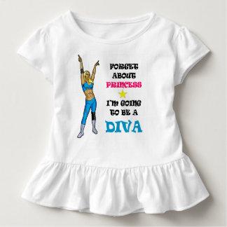 T-shirt Pour Les Tous Petits Chemise de lutte de diva