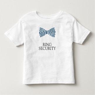 T-shirt Pour Les Tous Petits Chemise de sécurité d'anneau avec la cravate d'arc