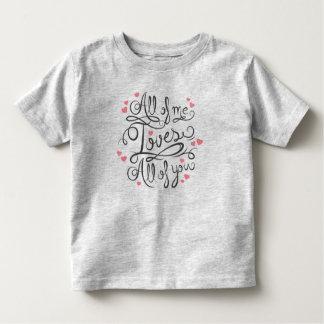 T-shirt Pour Les Tous Petits Chemise inspirée lunatique de la citation  