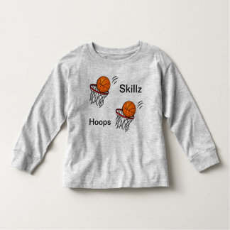 T-shirt Pour Les Tous Petits Chemise longtemps gainée de Skillz de cercles