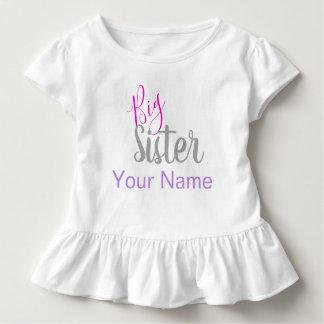 T-shirt Pour Les Tous Petits Chemise personnalisée de grande soeur