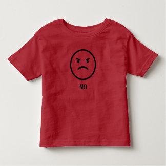 T-shirt Pour Les Tous Petits Chemise provoquante d'enfant en bas âge