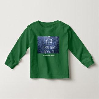 T-shirt Pour Les Tous Petits Chemise ronde de cou de long vert de douille