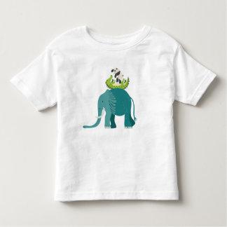 T-shirt Pour Les Tous Petits Chemisette pour enfants avec des animaux de la