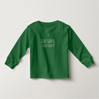 T-shirt Pour Les Tous Petits Cher Père Noël