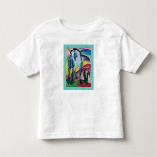 T-shirt Pour Les Tous Petits Cheval bleu I par Franz Marc
