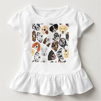 T-shirt Pour Les Tous Petits Chiens de motif d'illustration