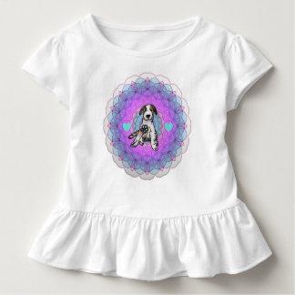 T-shirt Pour Les Tous Petits Chiot doux