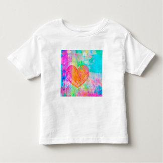 T-shirt Pour Les Tous Petits Coeur de Boho