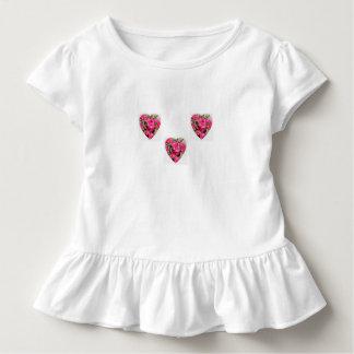 T-shirt Pour Les Tous Petits Coeurs de rhododendron