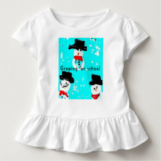 T-shirt Pour Les Tous Petits Combinaison du Jersey de bébé d'homme de neige,