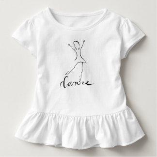T-shirt Pour Les Tous Petits Conception de danse de ballet