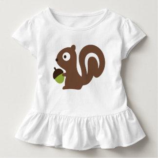 T-shirt Pour Les Tous Petits Conception mignonne d'écureuil de bébé