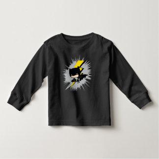 T-shirt Pour Les Tous Petits Coup-de-pied de foudre de Chibi Batman