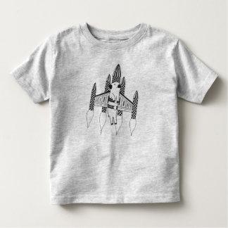 T-shirt Pour Les Tous Petits Coureur de peloton de Rocket et chemise de