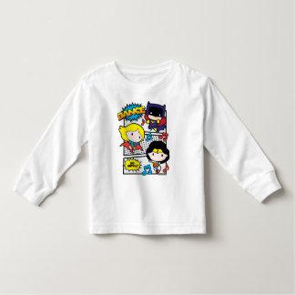 T-shirt Pour Les Tous Petits Danse de héros de Chibi