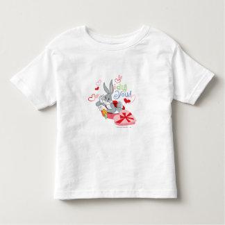 T-shirt Pour Les Tous Petits ™ de BUGS BUNNY je vous creuse !
