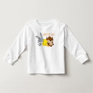 T-shirt Pour Les Tous Petits ™ de Chibi BUGS BUNNY, TWEETY™, et TAZ™