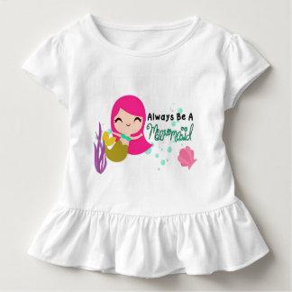 T-shirt Pour Les Tous Petits Dessus de sirène