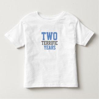 T-shirt Pour Les Tous Petits Deux terribles