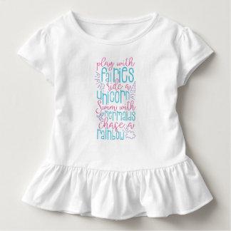 T-shirt Pour Les Tous Petits Dire doux de fille