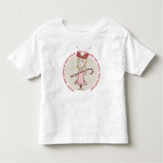 T-shirt Pour Les Tous Petits Dr. Seuss | le Grinch | Cindy Lou qui - citation