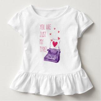 T-shirt Pour Les Tous Petits Drôle vous êtes juste mon type pièce en t de ruche