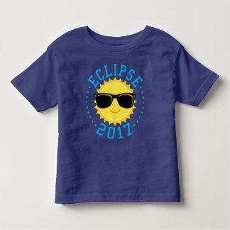 T-shirt Pour Les Tous Petits Éclipse mignonne 2017 de Sun
