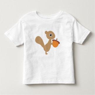 T-shirt Pour Les Tous Petits Écureuil