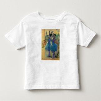 T-shirt Pour Les Tous Petits Edgar Degas | deux danseurs bleus