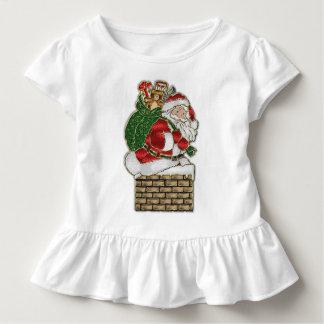 T-shirt Pour Les Tous Petits Effet en verre 2 de Père Noël