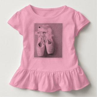 T-shirt Pour Les Tous Petits En Pointe de danseurs
